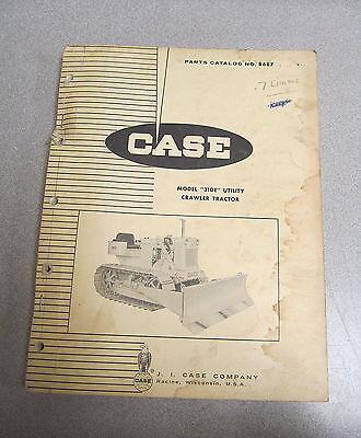 Case 310e Utility Crawler Tractors Parts Catalog Manual B687