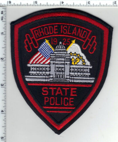 State Police (Rhode Island) 2nd Issue Wide Border Shoulder Patch