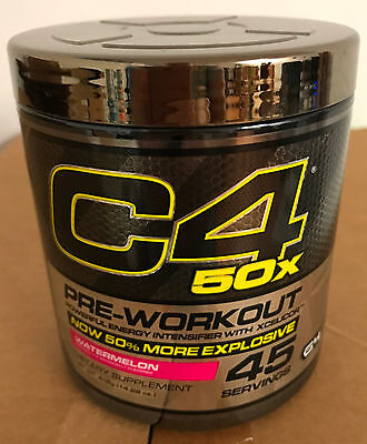 SALE! Cellucor C4 50X Pre-Workout Energy Watermelon 45 Servings