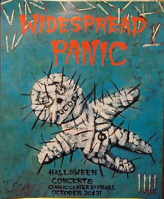 Widespread Panic Halloween Poster Concerts October 30 & 31