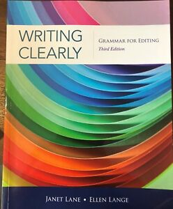 Writing clearly grammar for editing