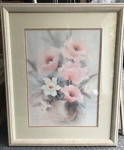 White wash Frame & picture
