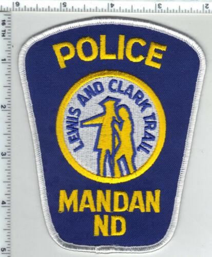 Mandan Police (North Dakota) 2nd Issue Shoulder Patch