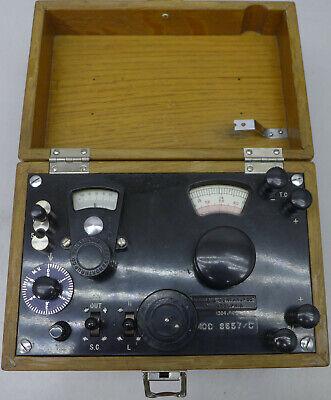 Leeds Northrup Potentiometer Galvanometer 8657c