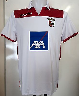 SPORTING BRAGA 2012/13 BOYS 3RD SHIRT BY MACRON SIZE JUNIOR XL BRAND NEW image