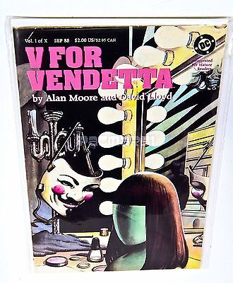 V FOR VENDETTA #1, Alan Moore, David Lloyd 1988 DC COMICS, NM/VF
