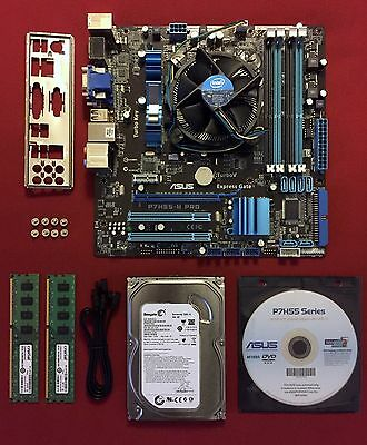 ASUS P7H55-M PRO Mother Board + i5 Processor + 4gb DDR3 Ram + 500GB Hard Drive