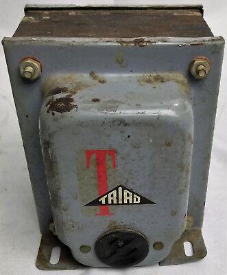 Isolation Transformer Power Supply Triad N-55m Vintage Electronics Industrial