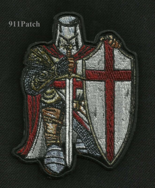Armor of God Crusader Spartan Law Enforcement Police EMT Firefighter Patch