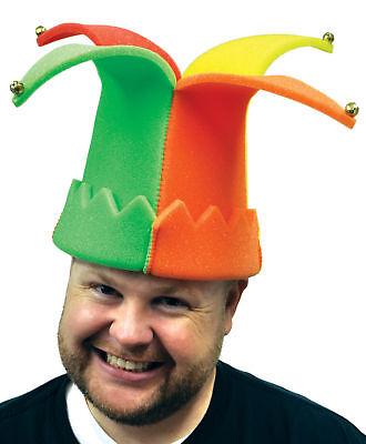 Hofnarr Mehrfarbig Schaum Erwachsene Hut mit Glocken One Halloween Rata Imposta