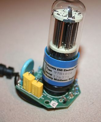 Photomultiplier Thorn Emi Electron Tube 9781b16 With Socket On Board 2