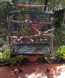 LARGE BIRD CAGE ON STAND Camira Ipswich City Preview