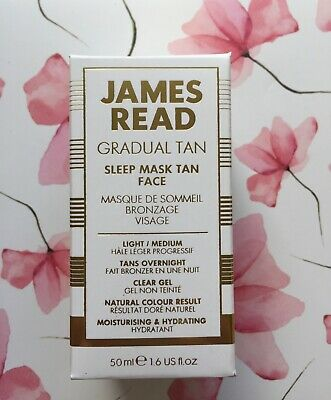 James Read - Gradual Tan Sleep Mask Tan Face - Light/Medium - 50ml