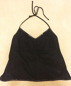 Roxy suede apron top