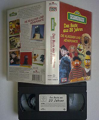 CTW SESAMSTRASSE Das Beste aus 20 Jahren BMG VIDEO 74321 16258 3 NDR VHS