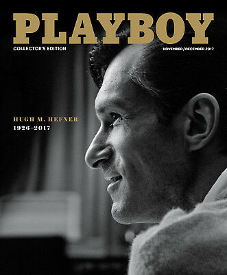 Hugh M Hefner 1926 2017   Playboy Magazine November December 2017   Brand New
