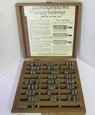 Kingsley Machine Type Set Keynote Caps 36 Pt