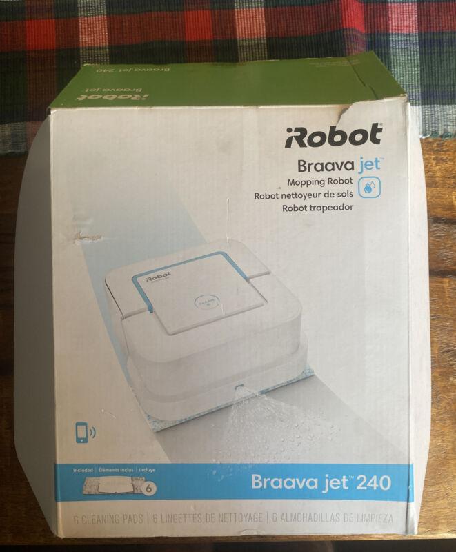 iRobot Braava jet 240 App Controlled Robot Mop Free Shipping
