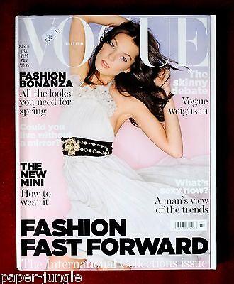 Vogue British ~ March 2007 ~ Daria Werbowy Lara Stone