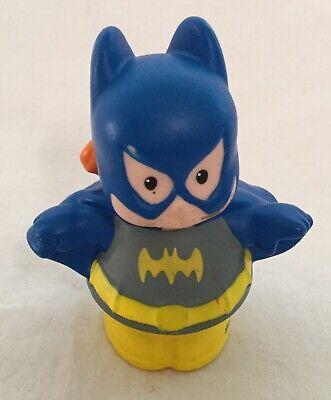 Little Girl Superhero (Fisher Price Little People Replacement Figure - Bat Girl Batgirl Super Hero)