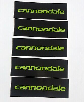 Stickers Cannondale F500 Bicycle Decals Transfers Yellow Set 0719
