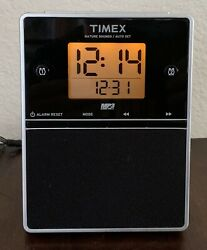 Timex Nature Sounds Alarm Clock Radio Model T312S AM/FM MP3 Line In