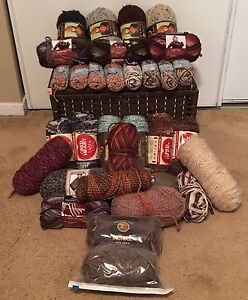 36 Assorted Yarns