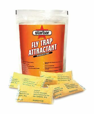 Starbar Fly Trap Attractant Refill Reusable Traps Four Different Resist Water