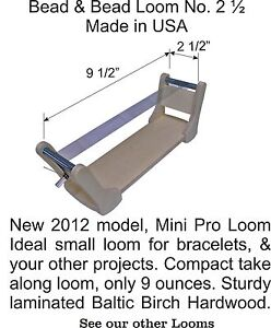 NEW-MINI-PRO-BEAD-LOOM-BEAD-AND-BEAD-LOOMS