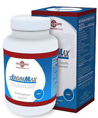 Arginmax For Men   180 Capsules  By Daily Wellness