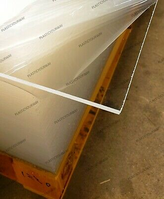 Clear Extruded Acrylic Sheet 18 .118 X 48 X 96 Local Pickup Or Freight