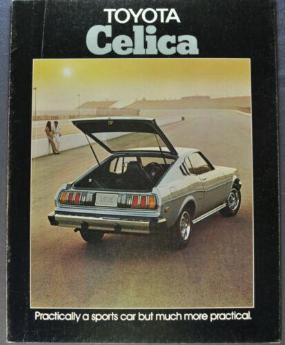1976 Toyota Celica Catalog Brochure GT ST Coupe Liftback Nice Original 76