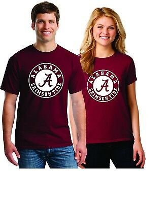 Alabama Crimson Tide NCAA Tee Shirts - Maroon -    CLOSEOUT 75% OFF](Alabama Crimson)