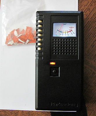 Geiger Counter DX-2 Radiation Monitor Meter Detector, FREE TESTING SOURCE!