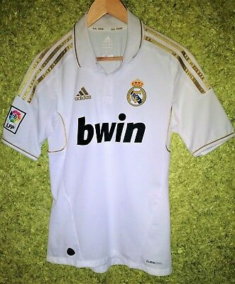 a30d9e5ef53 REAL MADRID SPAIN 2011 2012 HOME FOOTBALL SOCCER SHIRT JERSEY CAMISETA SIZE  S