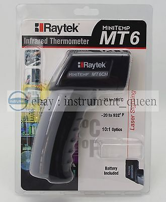 Raytek Mt6 Infrared Mini Temp Laser Thermometer Ir Gun -30 To 500 Mt6ch