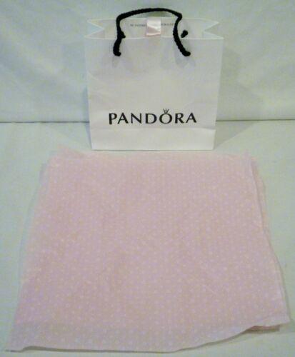 Pandora Paper Bag with 2 Sheets Pink Pandora Tissue Paper