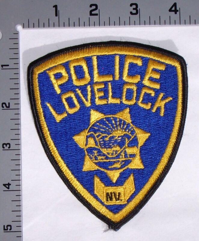 Lovelock Nevada Police Department Shoulder Patch