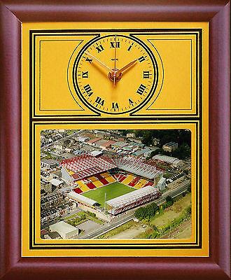 Football Clock Bradford City Coral Windows Stadium