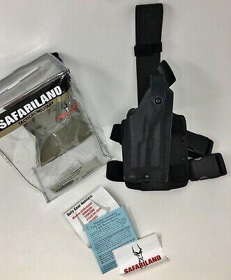 Safariland 6004 Sls Tactical Leg Holster Stx Black Glock 19 23 25 W Light - Rh
