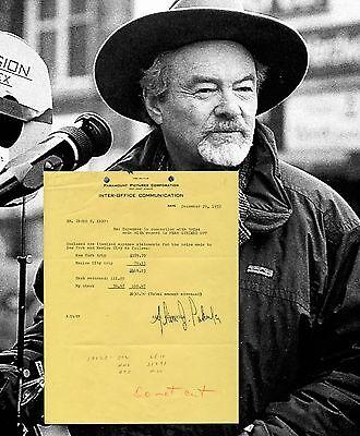 ALAN J. PAKULA LEGENDARY PROD/DIRECTOR AUTOGRAPH LIFETIME AUTHENTICITY GUARANTEE