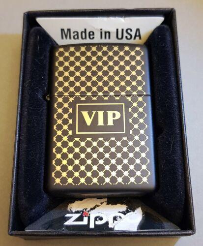 ZIPPO LIGHTER - VIP - MATTE BLACK (28531)