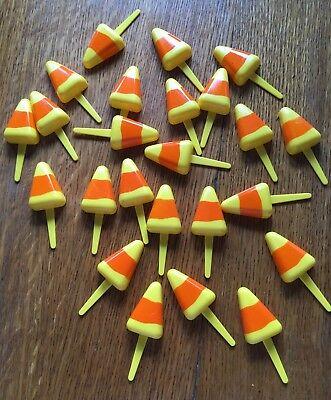 60 Piece Assorted Halloween Cupcake Cake Decorative Pics, Rings and Layons](Halloween Cake Pics)