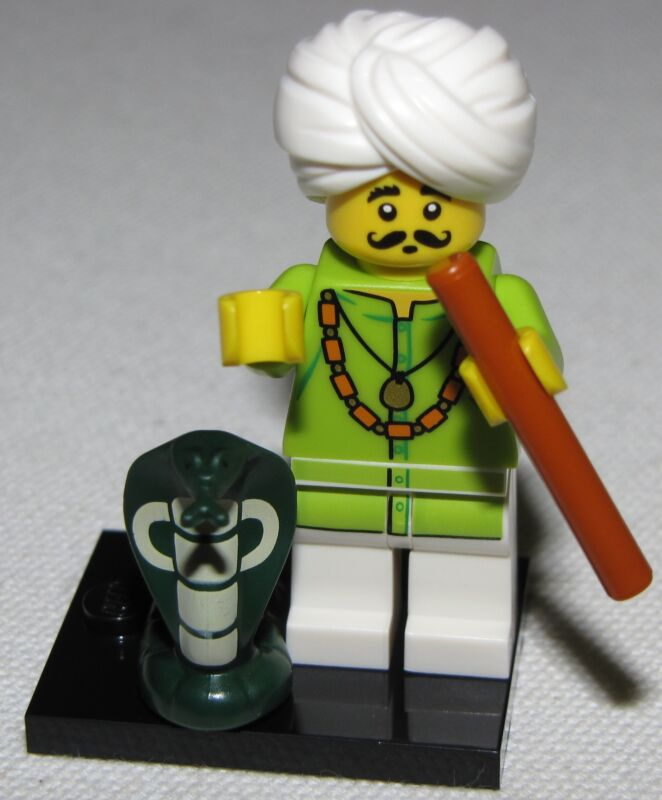 LEGO NEW SERIES 13 71008 MINIFIGURES ALL 16 AVAILABLE YOU PICK YOUR FIGURES  Snake Charmer