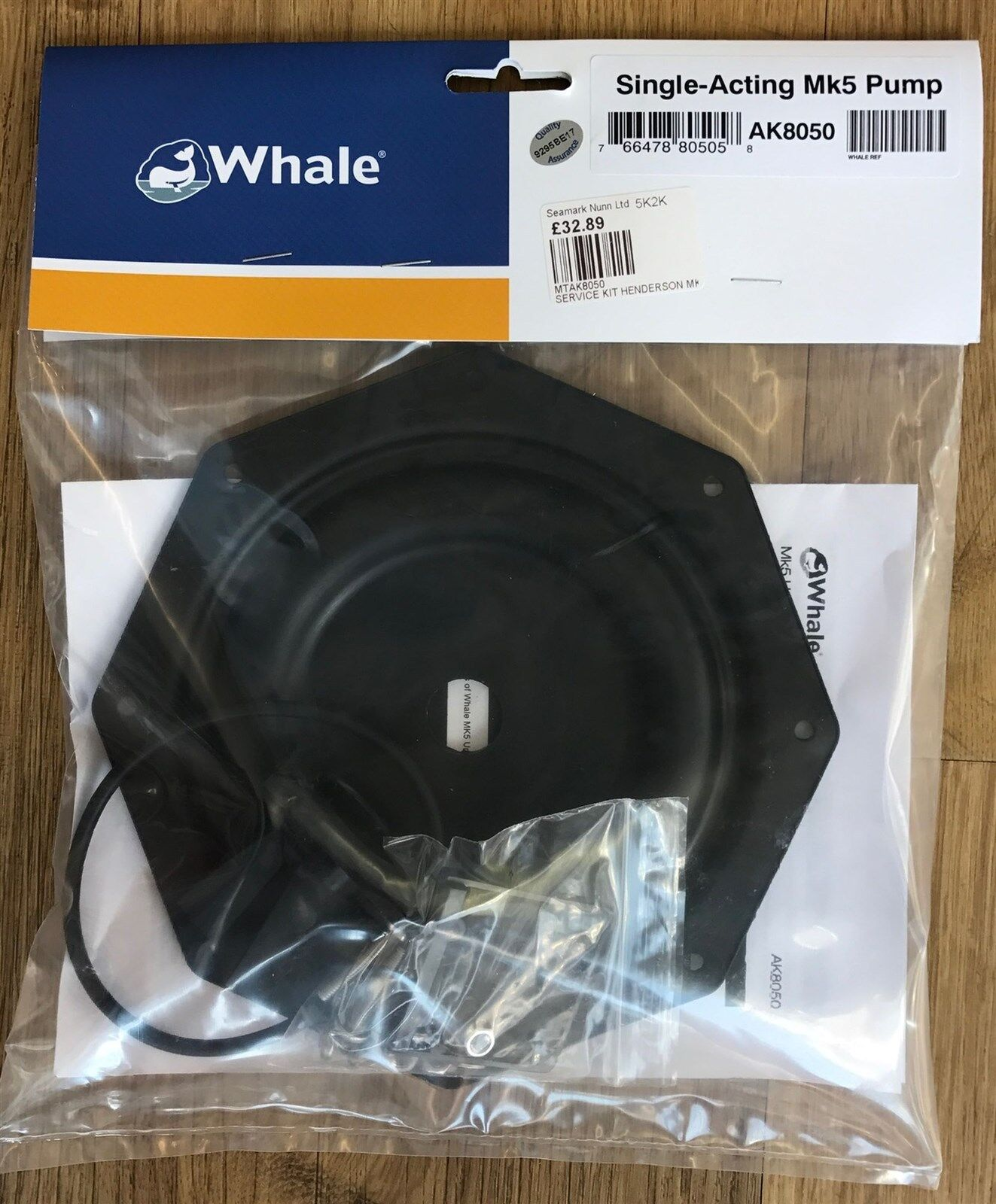 Whale Bomba de Achique Manual Henderson