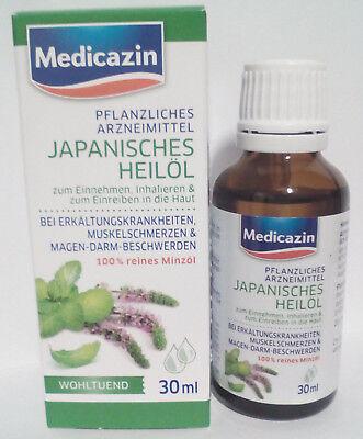 MEDICAZIN JAPANISCHES HEIL L HEILPFLANZEN L 100 REINES MINZ L 150 ML 0521