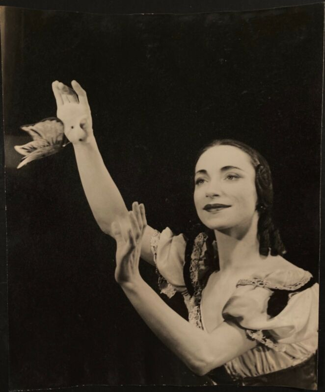 ballet ballerina photo Mona Inglesby of UK International Ballet 1940's by Rimi's