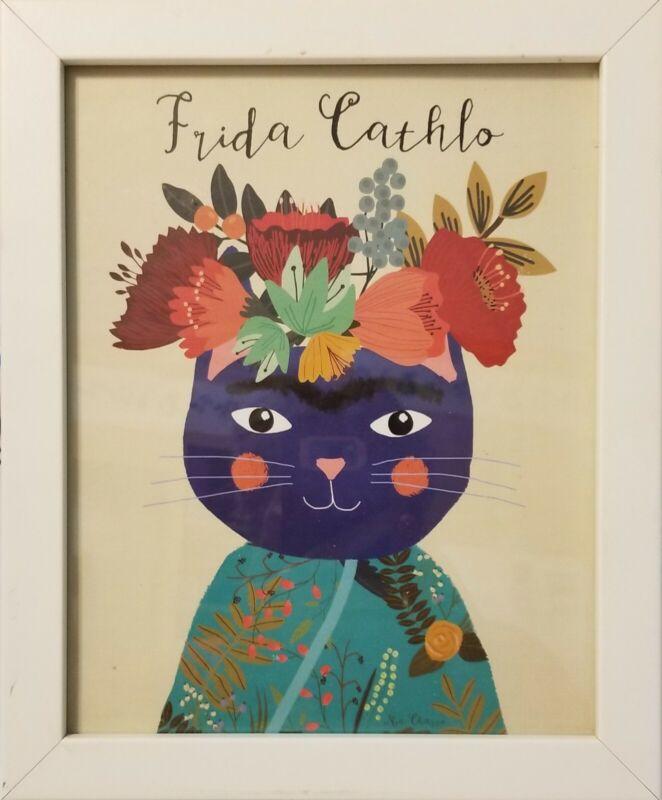 """Mia Charro Framed Print """"FRIDA CATHLO"""""""