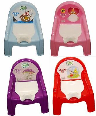 Baby Potty Chair Baby Training Potties For Boys Girls Pink & Blue Pastel