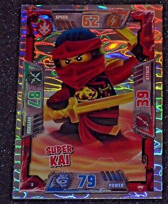LEGO NINJAGO Trading Card Special SUPER KAI # 3 series 2